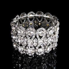 "Bracelets Alloy/Rhinestones Ladies' Shining 6.69""-8.27""(Approx.17cm-21cm) Wedding & Party Jewelry"