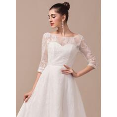 robes de mariée musulmanes vertes
