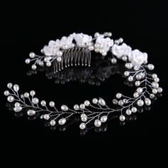 "Combs & Barrettes Wedding/Party Alloy 12.80""(Approx.32.5cm) 2.36""(Approx.6cm) Headpieces"