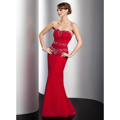 Magnificent Chiffon Trumpet/Mermaid Zipper Up Evening Dresses