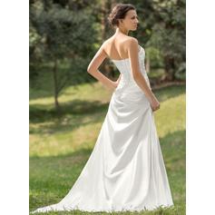 cheap lace beach wedding dresses