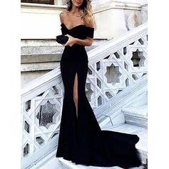 dark royal blue evening dresses