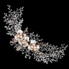 "Headbands Wedding/Special Occasion Crystal/Alloy 11.8""(Approx.30cm) 3.55""(Approx.9cm) Headpieces"
