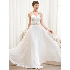 halter top style wedding dresses