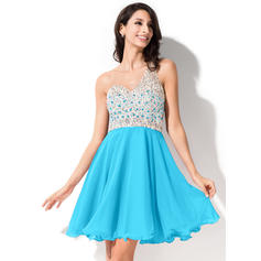 cute knee length homecoming dresses