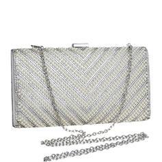 Handtaschen/Umhängetasche Hochzeit/Zeremonie & Party Polyester/Perlstickerei Busseln Arretieren Verschluss Elegant Clutches & Abendtaschen