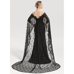 robes de soirée en dentelle longueur au genou