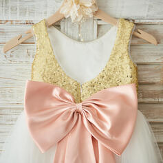 champagne flower girl dresses for girls 7-16