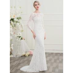 vestidos de novia sirena baratos