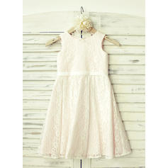 Lace A-Line/Princess Stunning Flower Girl Dresses (010210160)