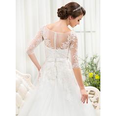 simple elegant chiffon wedding dresses