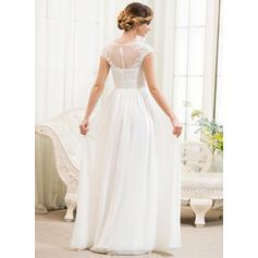 simple corset wedding dresses