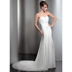 Sirena de diamante vestidos de novia