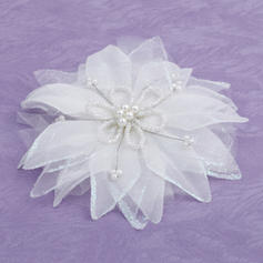 "Flowers & Feathers Wedding/Special Occasion Artificial Silk 1.97""(Approx.5cm) 3.94""(Approx.10cm) Headpieces"
