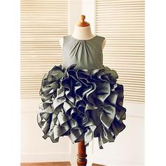 champagne flower girl dresses for girls 7-16