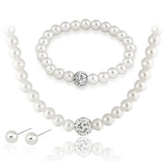 Jewelry Sets Imitation Pearls Pierced Ladies' Gorgeous Wedding & Party Jewelry