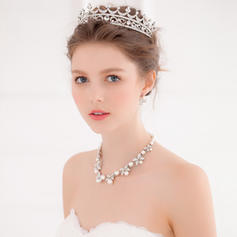 "Tiaras Wedding/Special Occasion/Party Alloy 6.69""(Approx.17cm) 4.72""(Approx.12cm) Headpieces"