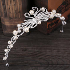 "Tiaras Wedding/Special Occasion/Party/Carnival Imitation Pearls 7.87""(Approx.20cm) 1.57""(Approx.4cm) Headpieces"