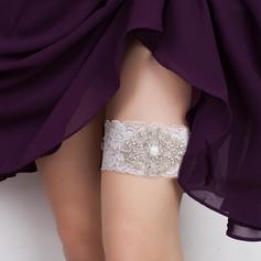 Strumpfbänder Damen/Brautmoden Hochzeit/besondere Anlässe Lace mit Strass/Perle Strumpfband