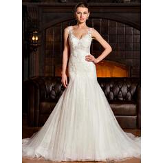 robes de mariée rose poussiéreuses