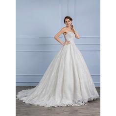 tailles plus robes de mariée