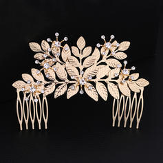 "Combs & Barrettes Wedding/Special Occasion Rhinestone/Alloy 4.53""(Approx.11.5cm) 3.07""(Approx.7.8cm) Headpieces"