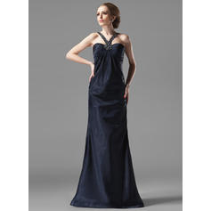 Luxurious Sweetheart Sheath/Column Charmeuse Evening Dresses