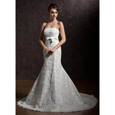 cheap lace white wedding dresses