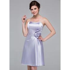 short organza bridesmaid dresses