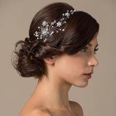"""Tiaras Casamento/Ocasião especial Cobre 4.33""""(Aproximado 11cm) 2.36""""(Aproximado 6cm) Acessórios de cabelo"""