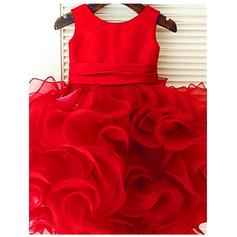 red flower girl dresses 3t