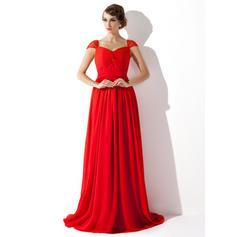 v neck short evening dresses