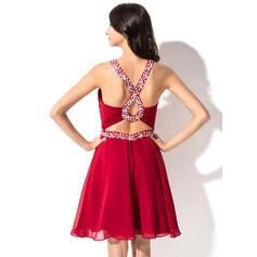 cute maroon homecoming dresses