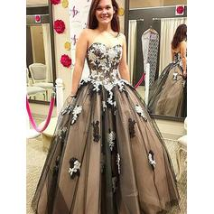 Tulle Sweetheart Ball-Gown Beautiful Prom Dresses