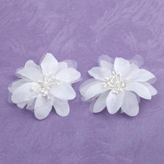 "Flowers & Feathers Wedding/Special Occasion Satin 1.97""(Approx.5cm) 0.78""(Approx.2cm) Headpieces"