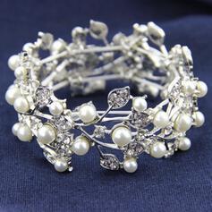 """Armbänder Legierung/Strasssteine/Faux-Perlen Damen Prächtig 6.69""""-8.27""""(Ungefähre 17cm-21cm) Hochzeits- & Partyschmuck"""