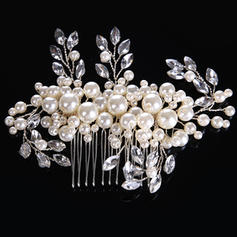 "Combs & Barrettes Wedding/Special Occasion Alloy/Imitation Pearls 5.12""(Approx.13cm) 3.15""(Approx.8cm) Headpieces"
