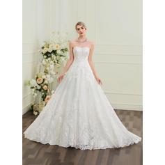 robes de mariée d'hiver à manches longues