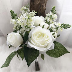 "Bridesmaid Bouquets Round Wedding/Party/Casual 4.72""(Approx.12cm) (Sold in a single piece) Wedding Flowers"