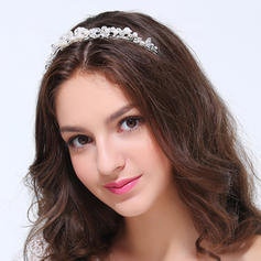 "Tiaras Wedding/Party Alloy 4.72""(Approx.12cm) 1.18""(Approx.3cm) Headpieces"