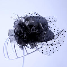 Tulle Fascinators Elegant Hats