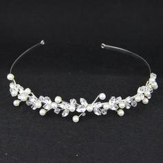 "Tiaras Wedding/Special Occasion/Casual Crystal/Alloy/Imitation Pearls 5.91""(Approx.15cm) 1.18""(Approx.3cm) Headpieces"