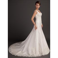 robes de mariée sirène rose