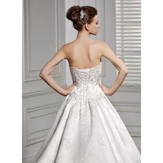pequeños vestidos de novia de marfil