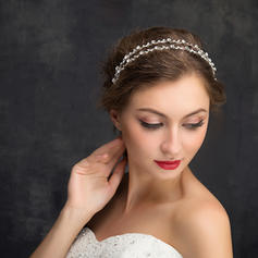 "Headbands Wedding/Special Occasion/Party Rhinestone/Alloy 5.91""(Approx.15cm) 0.36""(Approx.0.9cm) Headpieces"