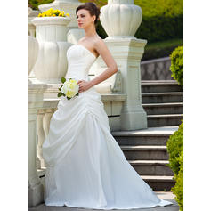 satin bollklänning bröllopsklänningar