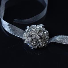 """Armbandblume Hochzeit/Party Lace/Strass 2.76""""(Ungefähre 7cm) 2.76""""(Ungefähre 7cm) Brautstrauß"""