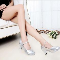 Femmes Salle de bal Talons Similicuir avec Boucle Chaussures de danse