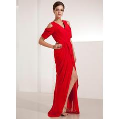evening dresses for women formal knee length black