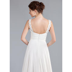 cheap lace back wedding dresses